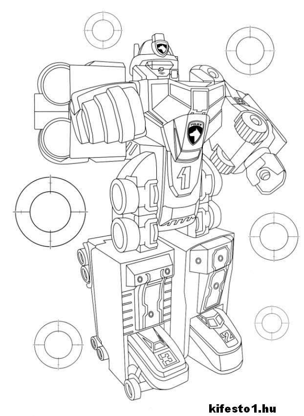 Transformers 62 Kifestő Transformers Kifestő